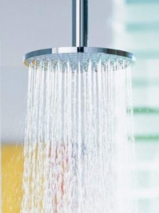 Hansgrohe Raindance Water flow rate