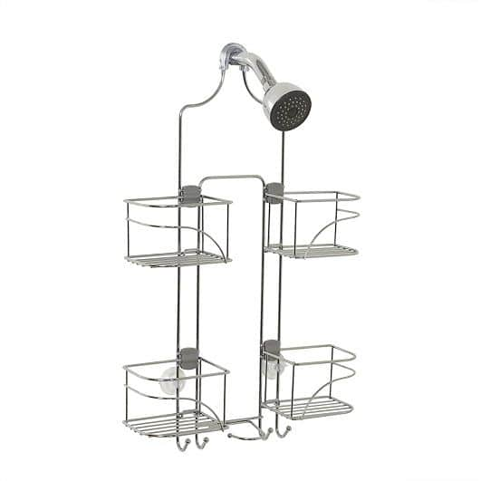 Zenna Home 7446SS over-the-showerhead caddy