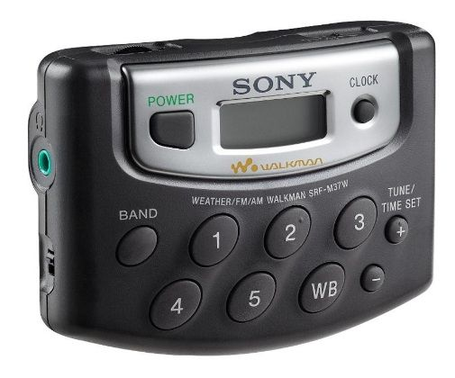 Sony SRF M37W Walkman Digital Weather
