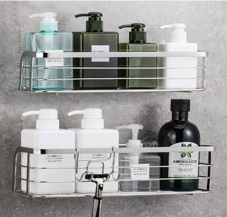 LUXEAR 2 Pack Shower Caddy